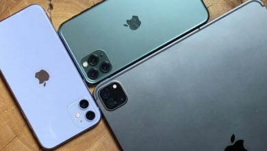 مقارنة هواتف iPhone