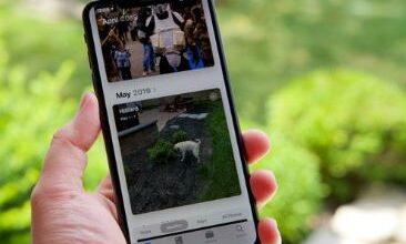 إخفاء الصور على iPhone