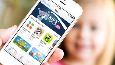 تطبيقات iPhone وipad المبتدئين للأطفال