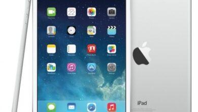 ipad mini 3 من Apple