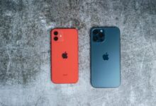 مقارنة بين iPhone 13وiPhone 12