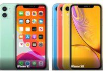 مقارنة بين iPhone11 وiPhoneXR