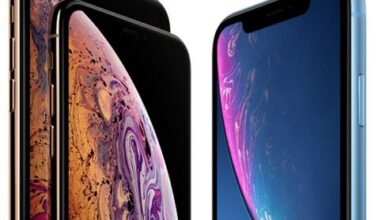 مقارنة بين iPhone XR وiphoneXS