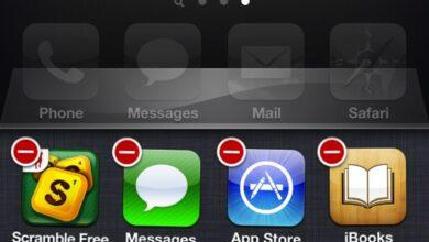 حذف واغلاق التطبيقات في iPhone