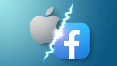 معارضة Facebook عندما تطبق Apple