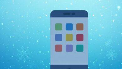 حل مشكلة تجميد iPhone