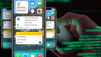 مشاركة الشاشة الرئيسية المخصصة لجهاز iPhone فكرة سيئة
