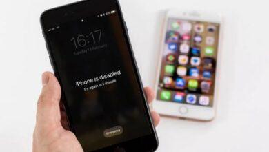 هاتفك iPhone المعطل