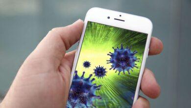 إزالة الفيروس من iPhone أو iPad