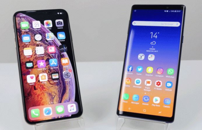 iPhone XS vs Galaxy Note9
