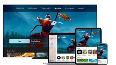 سعر Apple Arcade والألعاب وأجهزة التحكم من Apple