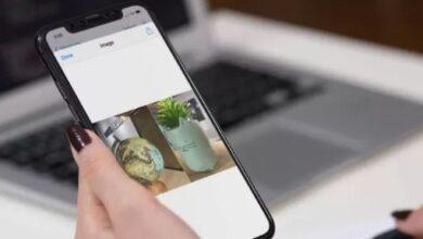 دمج الصور على iPhone وiPad عموديًا وأفقيًا