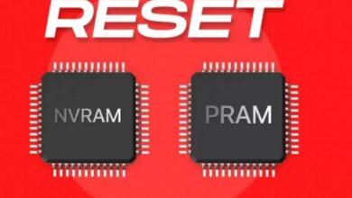 كيفية إعادة تعيين NVRAM أو PRAM على أجهزة Mac المستندة إلى Intel