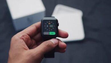كيفية ضبط المنبه على Apple Watch