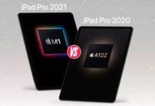 iPad Pro 2021 vs iPad Pro 2020