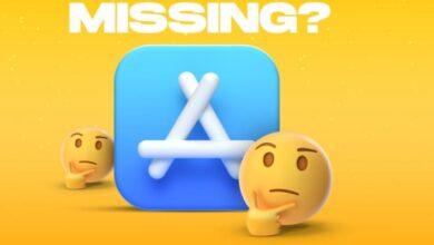 أيقونة متجر التطبيقات مفقودة على iPhone أوiPad طرق لاستعادة