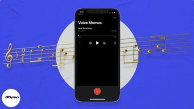 كيفية تحويل نغمة مذكرة صوتية إلى نغمة iPhone