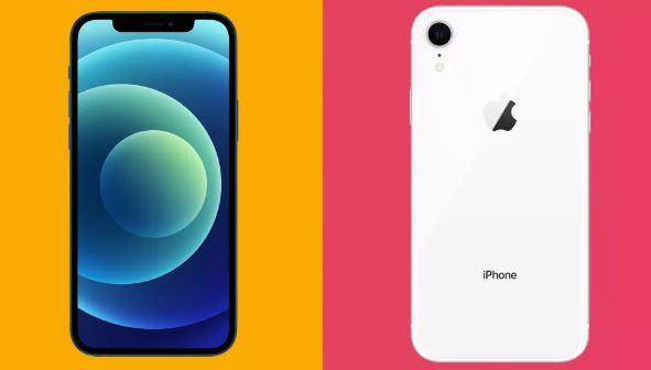 iPhone12 مقابل iPhone XR مقارنة عامة بين هاتفي iPhone