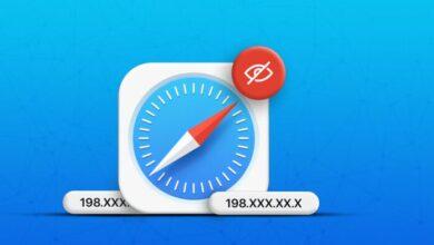 كيفية إخفاء عنوان IP في Safari في iOS 15 و macOS Monterey