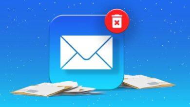 حذف رسائل البريد الإلكتروني مرة واحدة على iPhone وiPad