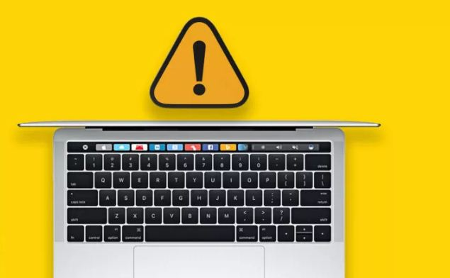 لوحة مفاتيح MacBook لا تعمل طريقة اصلاح المشكلة