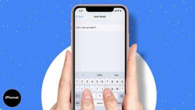 كيفية الرد التلقائي على الرسائل النصية على iPhone