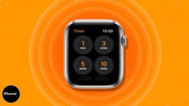 كيفية ضبط عداد الوقت على Apple Watch