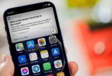 كيفية استدعاء Siri عندما تكون شاشة iPhone مغطاة