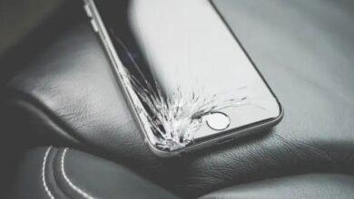 كيفية فتح هاتف iPhone مع شاشة مكسورة