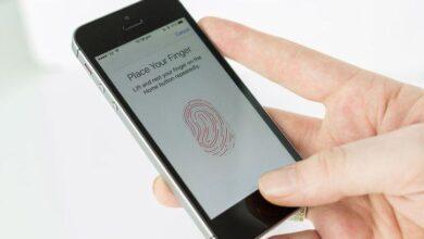هواتف iPhone التي تحتوي على Touch ID من Apple