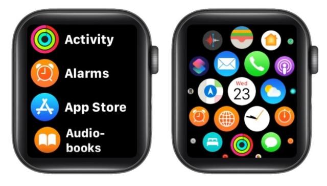 كيفية تغيير تخطيط وتنظيم تطبيق Apple Watch