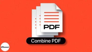 طرق سهلة لدمج ملفات PDF على جهاز Mac
