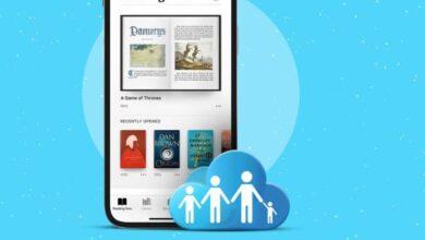 كيفية مشاركة Apple Books مع أفراد العائلة على iPhone