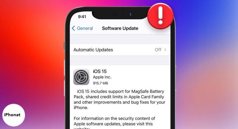 الحل الأمثل لـ iPhone غير قادر على تثبيت تحديث iOS 15 beta