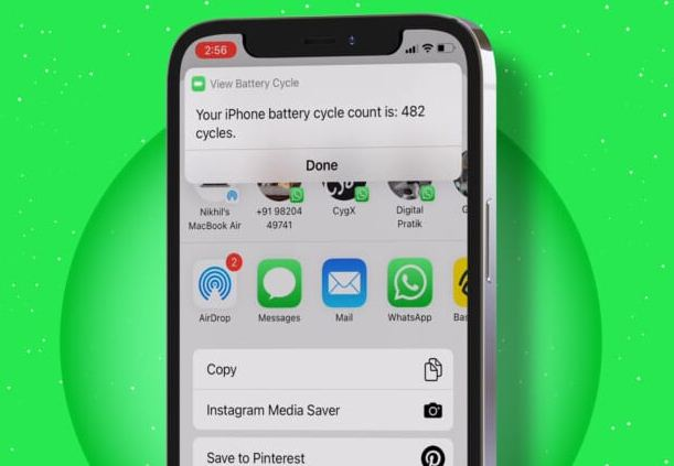 How to Check iPhone Battery Charge Cycles