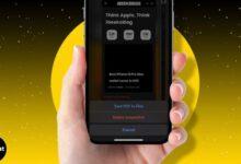 كيفية حفظ صفحة الويب كملف PDF على iPhone وiPad (iOS 15 أو 14)