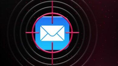 كيفية حظربكسل تتبع البريد الالكتروني على iPhone