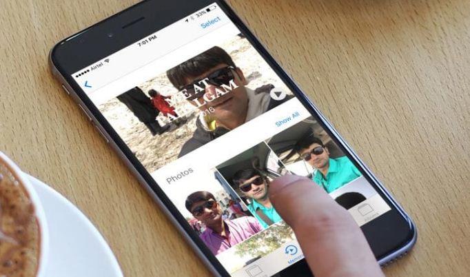 كيفية حظر شخص ما في Photos Memories على iPhone