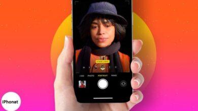 كيفية استخدام وضع Portrait و Portrait Lighting على iPhone