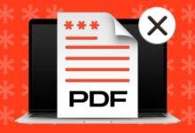 كيفية إزالة الحماية بكلمة مرور من ملفات PDF على نظام Mac